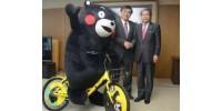 5万辆日本熊本县酷MA萌共享单车将登陆中国